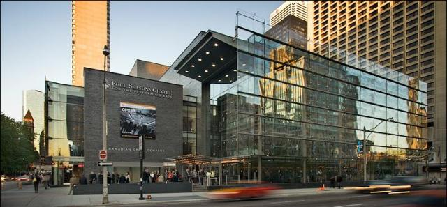 Four Seasons Centre for The Performing Arts in Toronto.
