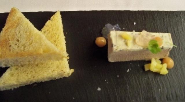 Foie Gras Chicken Parfait