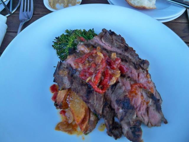 Quince - Grilled Skirt Steak