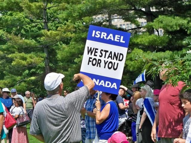 Canada with Israel