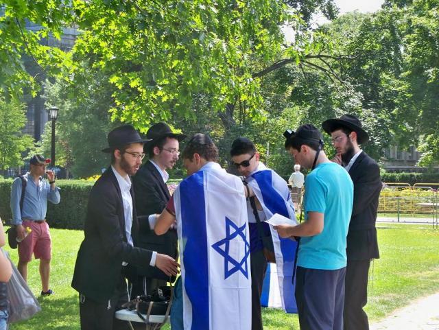 Chabad - mizva - pro-Israel