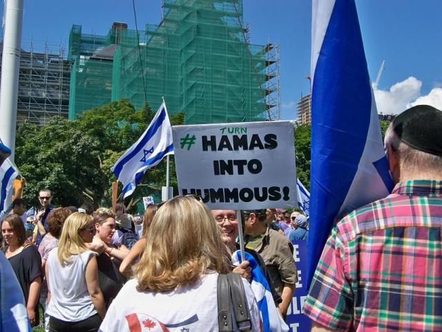 Hamas into humus