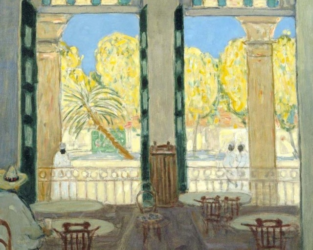 James Morrice - Cafe El Pasaje Havana