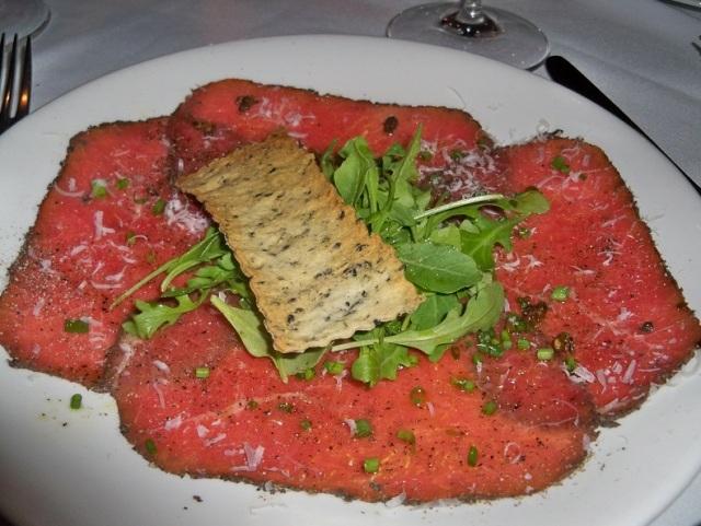 Blu - Beef Tenderloin Carpaccio