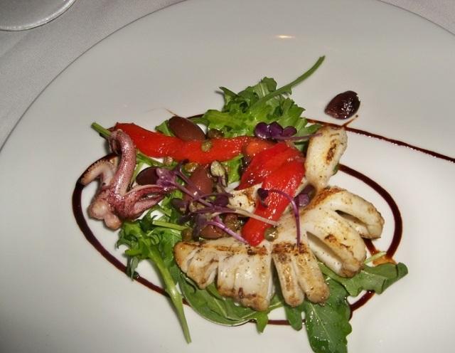 Blu - Grilled Calamari