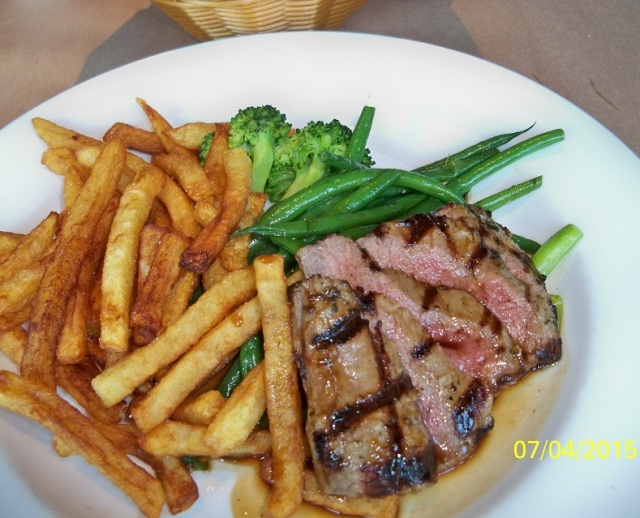 Brownes bistro - Flank Steak