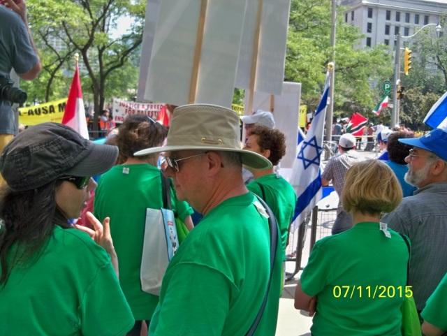 Jews for Jesus - pro-Israel rally