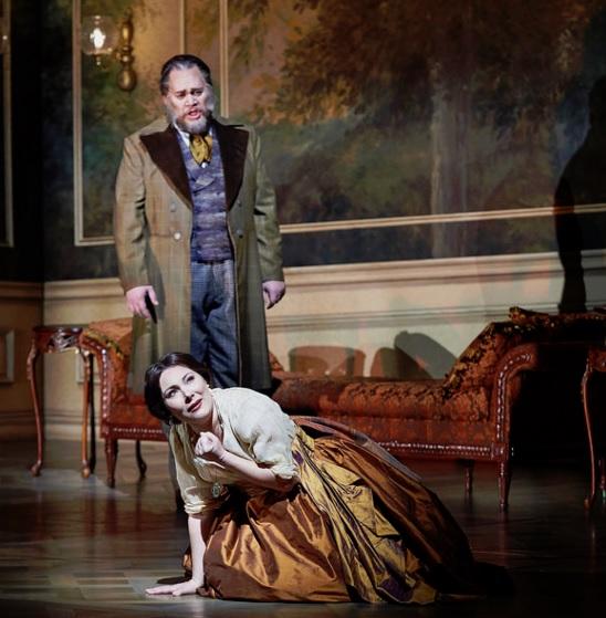 COC - La Traviata - Violetta and Giorgio Germont