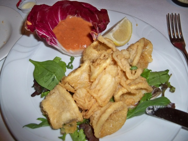 Piacere - Fried calamari