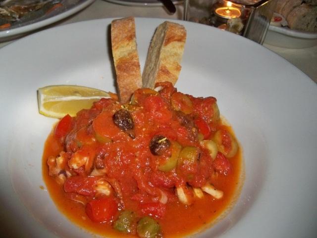 Gourmet Bistro - Calamari Puttanesca