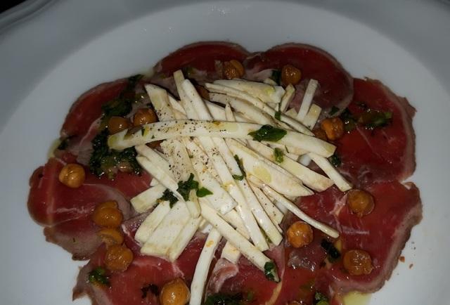 L'Unita - Lamb Carpaccio