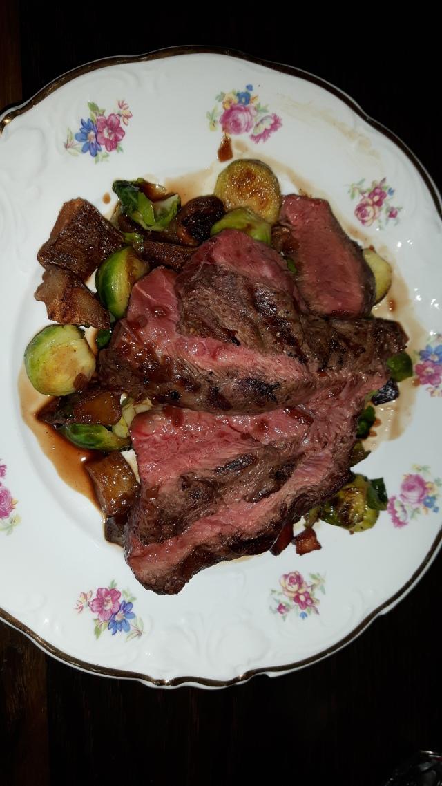 Rosedale diner - Flat iron steak