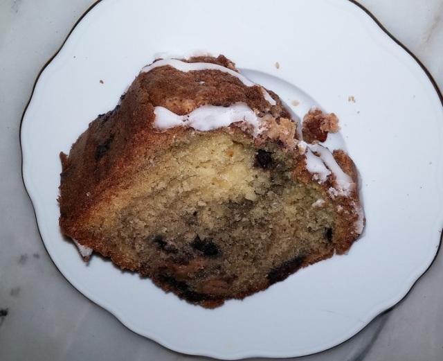 Wish - blueberry coffee cake