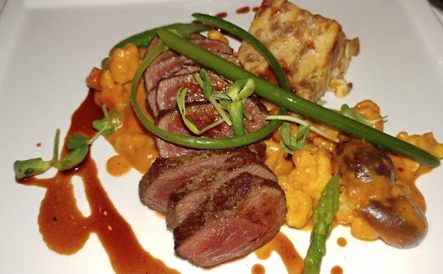 AG cuisine - Loin of venison