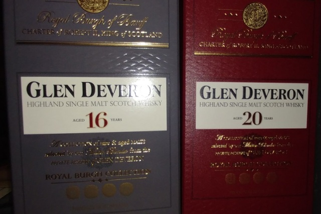 Glen Deveron - 16 & 20 years