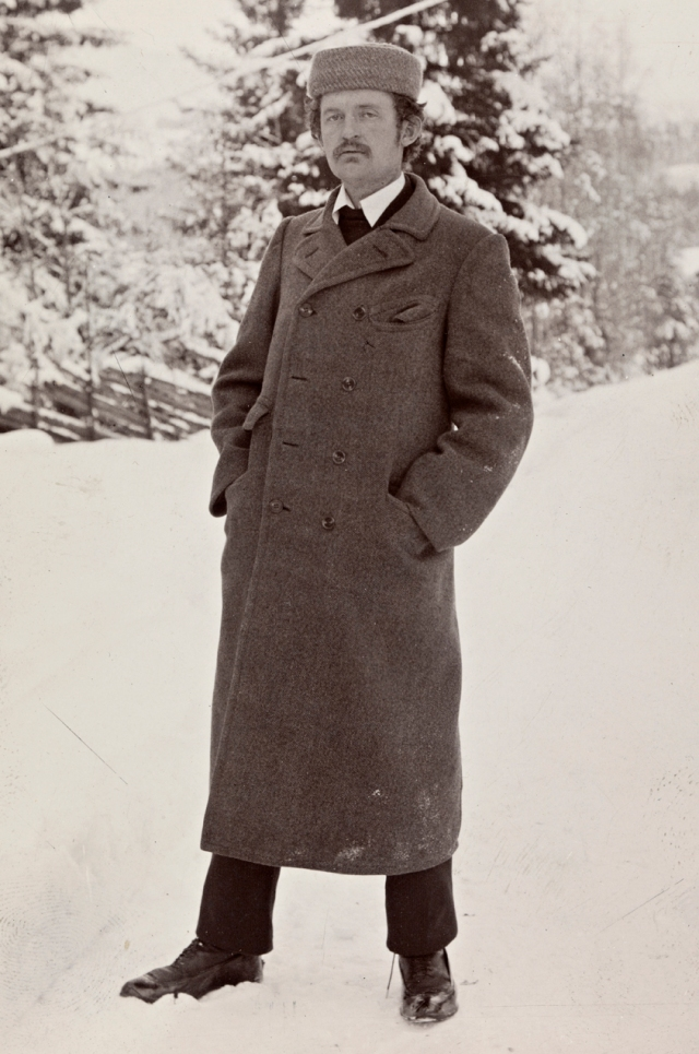 Photo of Edvard Munch