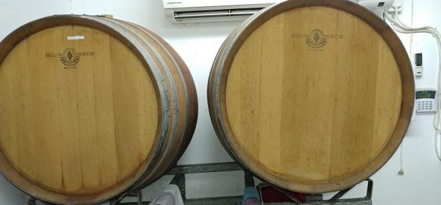 Reuben winery - barrels