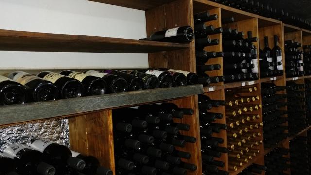 Reuben winery - bottles