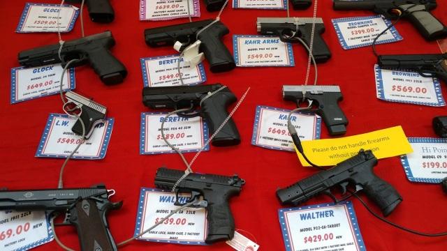 Gun show - handguns