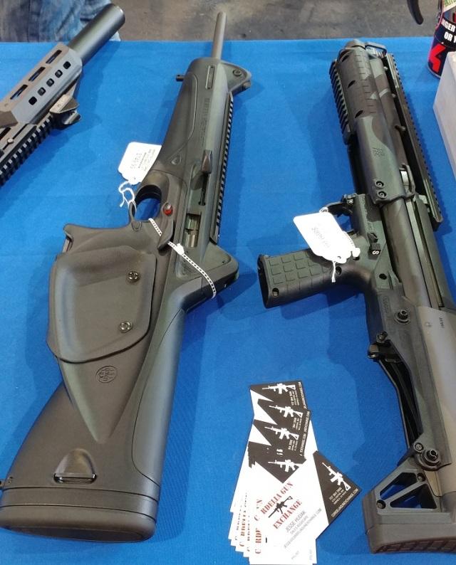 Gun show - modern semi-auto rifles