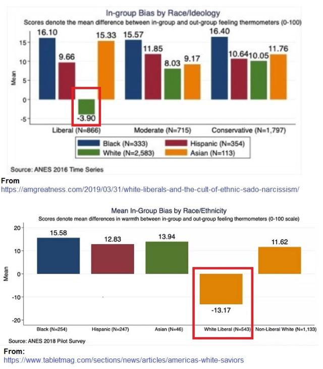 Ingroup bias - 2016 - 2018 ANES data