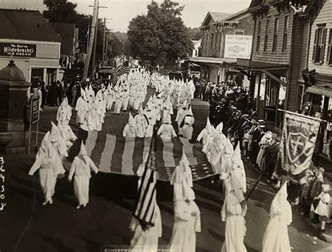 KKK and US flag