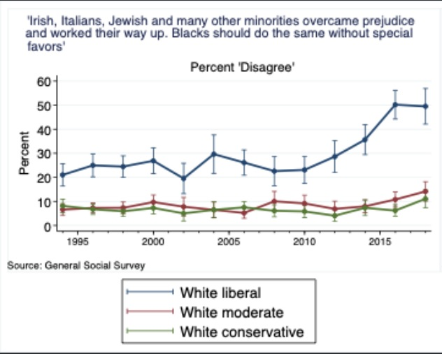 Should blacks follow path of Irish Italians and Jews 1995-2018